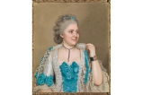 Jean-Etienne Liotard, Julie de Thellusson-Ployard, 1760. Pastel on vellum, 70 x 58 cm. Museum Oskar Reinhart, Winterthur, inv. 278. Rodolphe Dunki, Geneva; acquired 1935' Photo SIK-ISEA. Photography: Philipp Hitz
