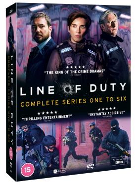 Line of Duty DVD