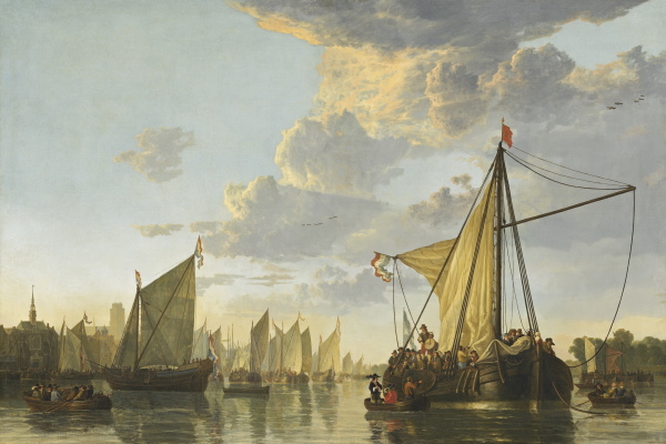 Aelbert Cuyp, The Maas at Dordrecht, c. 1650, National Gallery of Art, Washington (Andrew W. Mellon Collection)