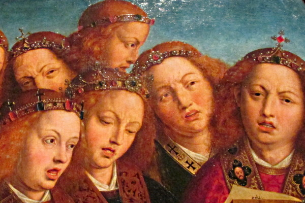 Detail of the Ghent Altarpiece 1